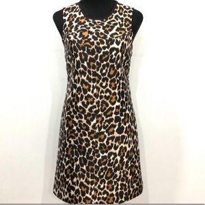 NWOT J.Crew leopard print dress